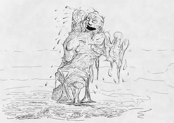 Inktober 2018 23 Muddy  by OdoHorst