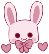 Cute Bunny 2 [FREE] by XAngelFeatherX