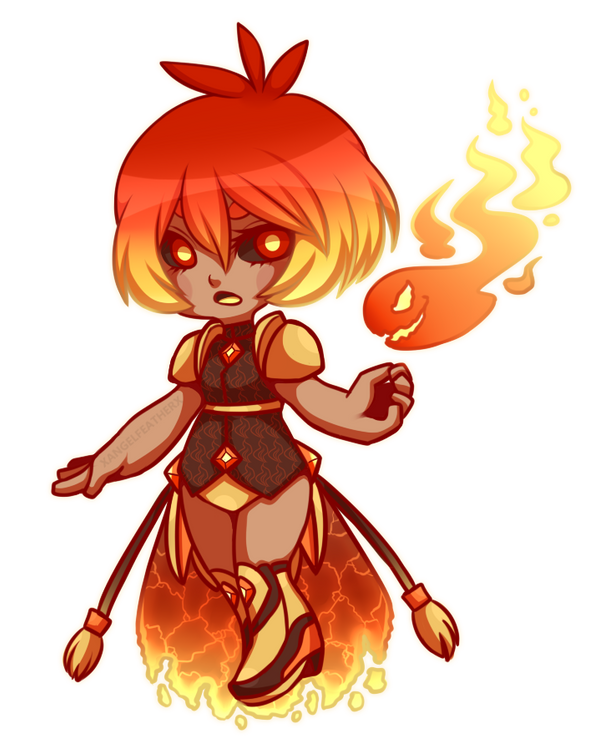 Mini Contest: Fire Element Design by XAngelFeatherX on ...