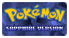 Stamp - PKMN Sapphire Version by kaitoupirate