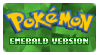Stamp - PKMN Emerald Version by kaitoupirate