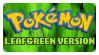 Stamp - PKMN LeafGreen Version by kaitoupirate