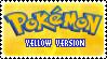 Stamp - PKMN Yellow Version by kaitoupirate