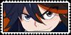 Ryuko Matoi - Kill la Kill Stamp by LamentiStamps