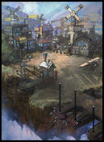 smalltown skyland by s-mcmurchy