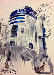 R2D2 by TheHyperChick