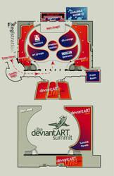 deviantART summit: FLOOR MAP by summitgroup