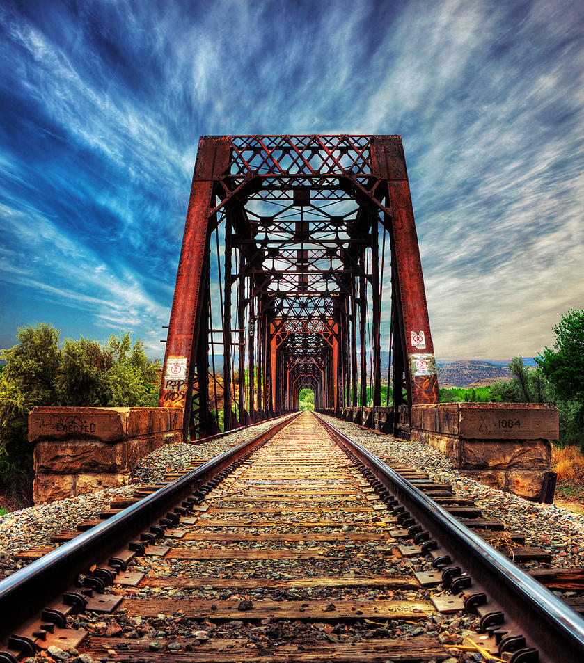 Train Bridge ReVisit by Torqie