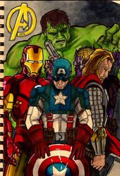 Avengers Doodle