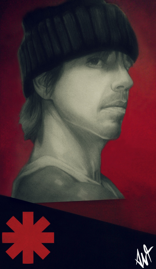 Anthony Kiedis by Antilef