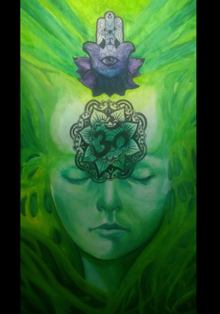 Green tara by Antilef
