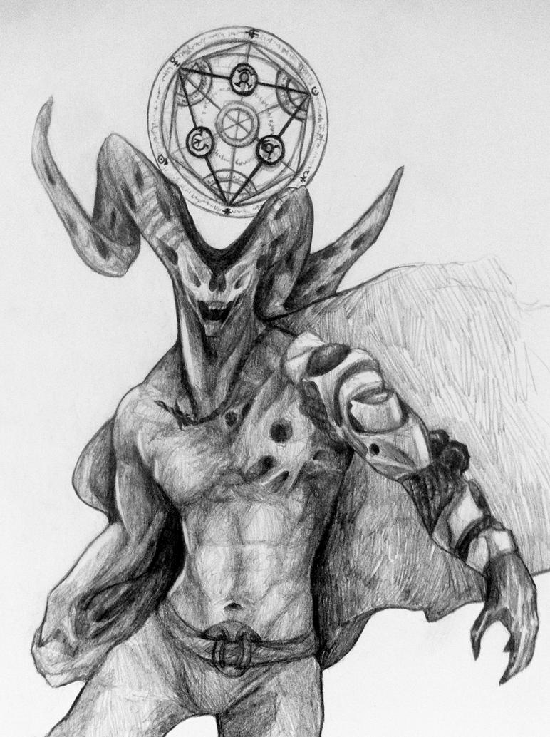 Full metal Demon by Antilef