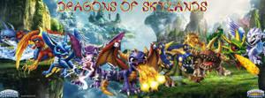 Skylanders Dragons Facebook Cover