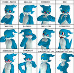 Expressions meme - Veemon