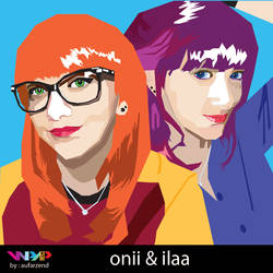 Gorgeous Twins oni and ila