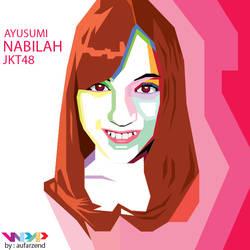 Nabilah JKT48 on WPAP