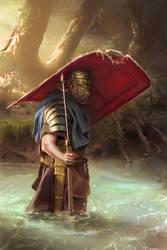 045 - roman legionary (FINAL) by NickProkoArt