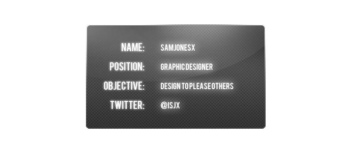 samjonesx's Profile Picture