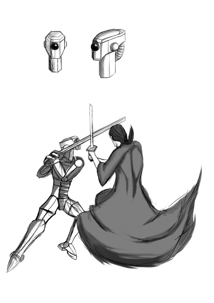 Robo-Samurai Character sheet WIP by reaver570
