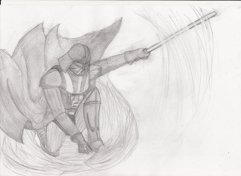 Darth Vader Sketch by reaver570 on DeviantArt