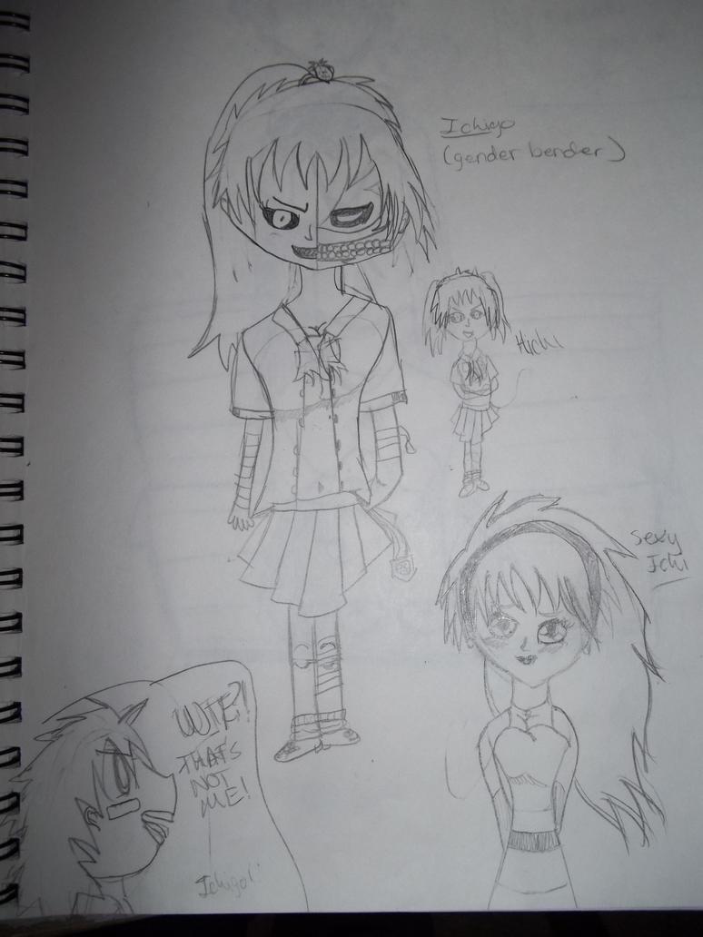 ichi genderbender by AlyHisanaKurosaki16