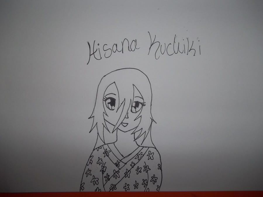 Hisana Kuchiki Line Art by AlyHisanaKurosaki16