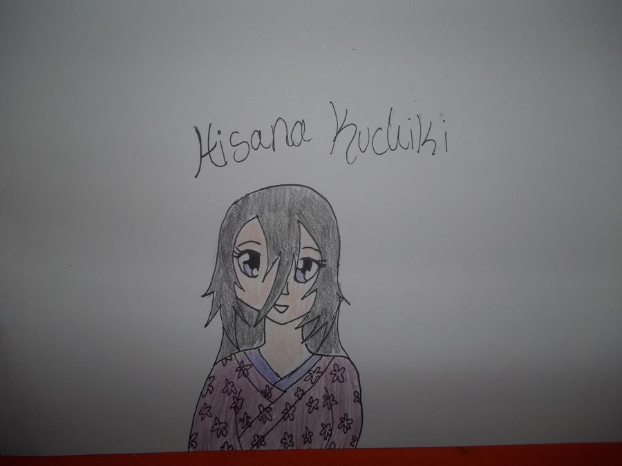 Hisana Kuchiki Colored by AlyHisanaKurosaki16
