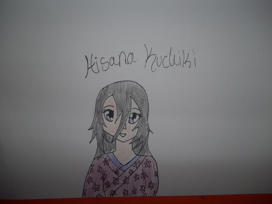Hisana Kuchiki Colored by AlyHisanaKurosaki16