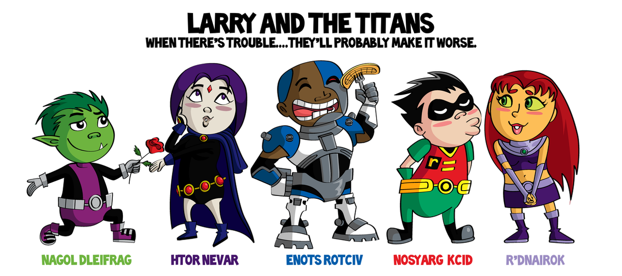 Teen Titans Fractured Larry Real 34