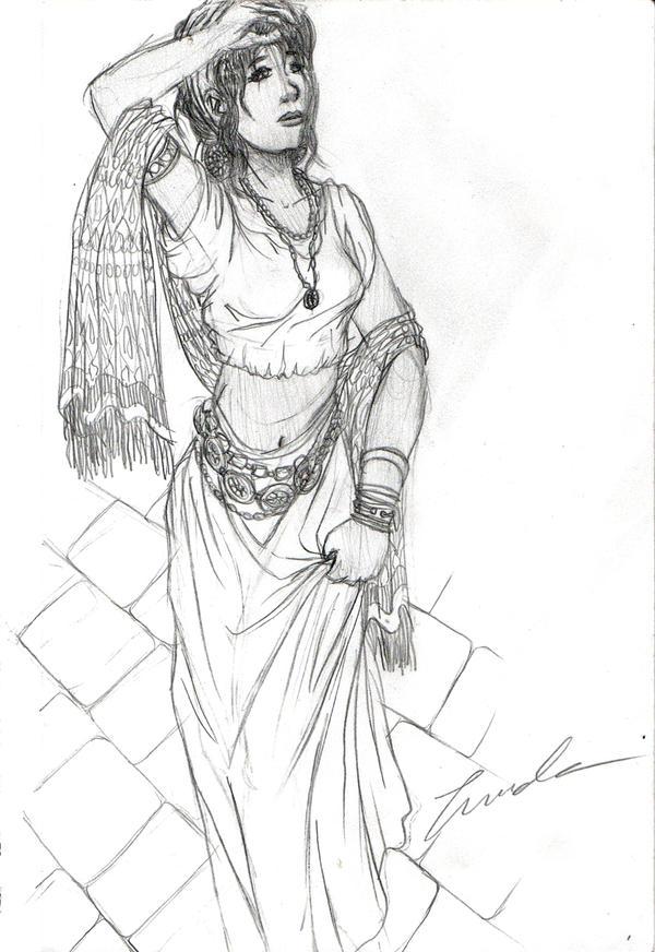 Gypsy Woman by LindaJV on DeviantArt