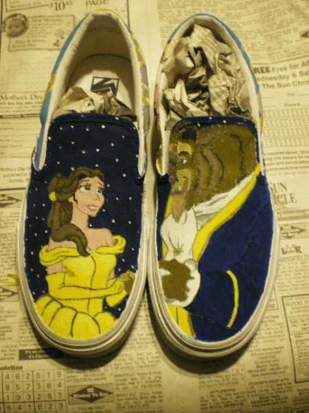 8720bbe1bc Beauty and the Beast Vans top by xhopesarehigh on DeviantArt