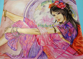 Three Kingdoms-Zhang Chun Hua (Artgerm)