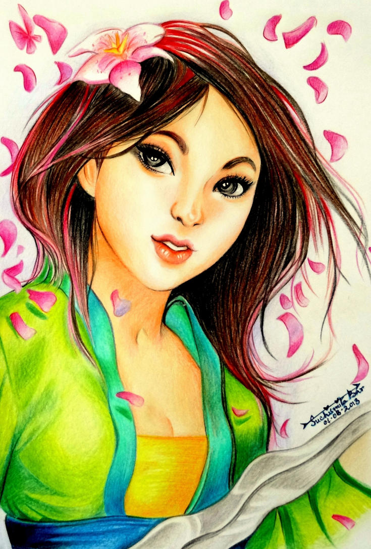Hua Mulan by Jenny-artascending