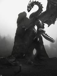 black Dragon by mostafa239