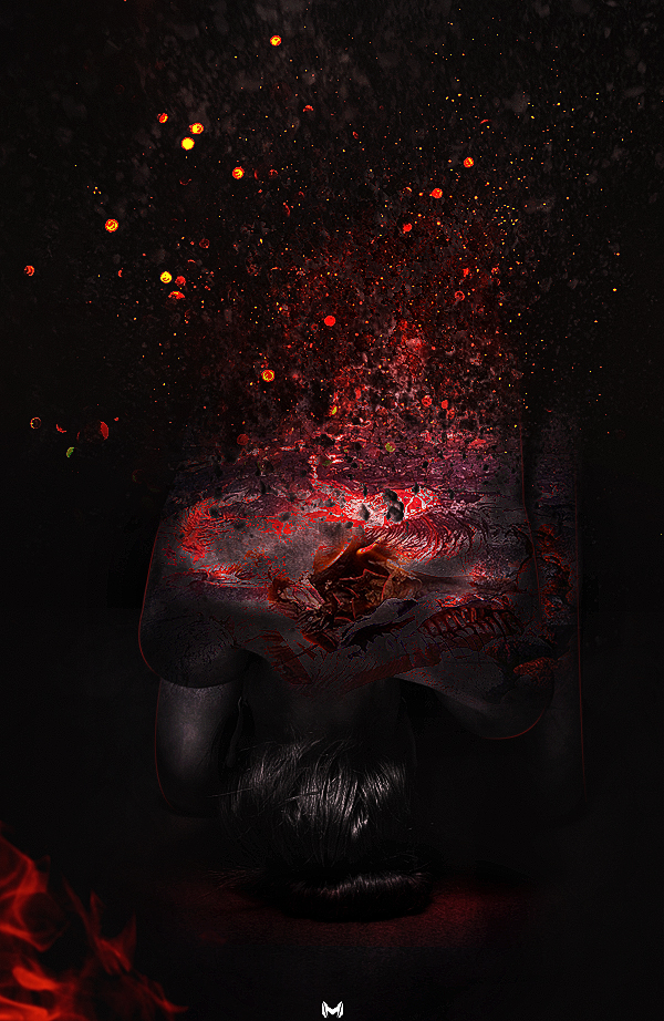 Darkness Fire by mostafa239