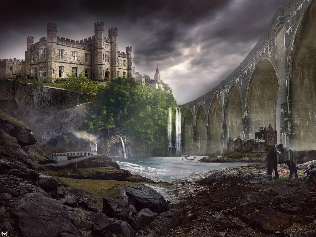 Castle fantasy by mostafa239