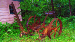 Rusty Rural Relic
