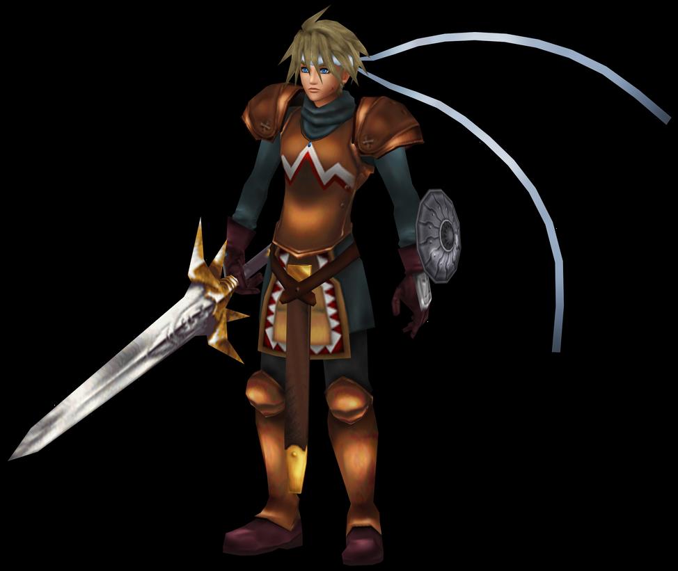 Chrono Cross HD: Glenn, the Acacia Dragoon. by 2PlayerWins