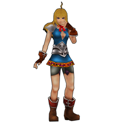 Chrono Cross HD: Tia, the sister of the dimension. by 2PlayerWins