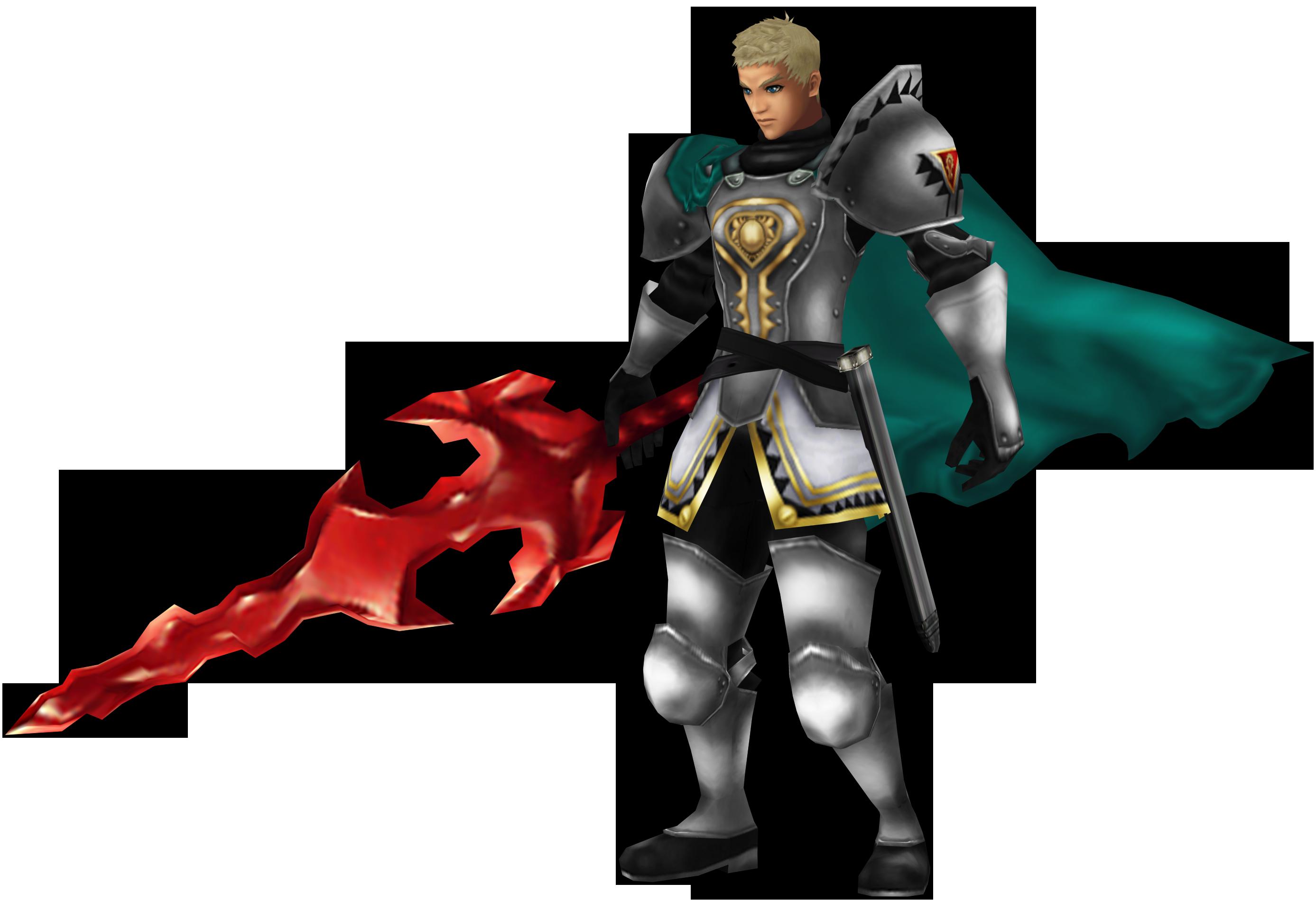 Chrono Cross HD: Dario, the Masamune fencer. by 2PlayerWins