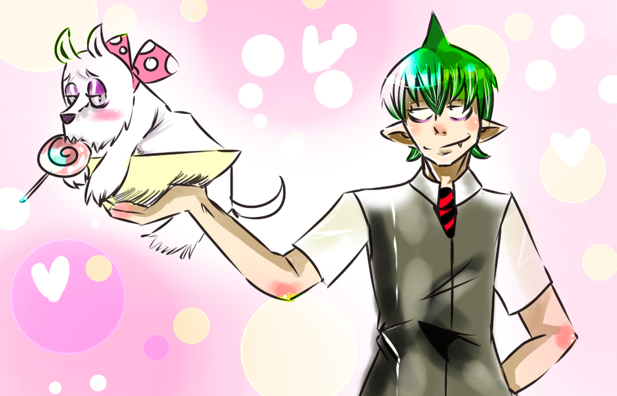Waiter Amaimon by Bippie