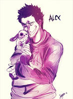 Welcome To The Petting Zoo! :Alex Shepherd: by Bippie