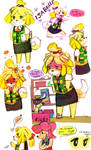 Hello, It's me! Isabelle! :ANIMAL CROSSING: