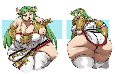Palutena by bimbosparkle