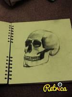 skull by purplecherrys