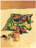 randoms sweets painting by purplecherrys