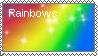 Rainbow Stamp by Rainbowpaintbrush101