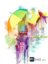 Dripping Color by Norozmayar786