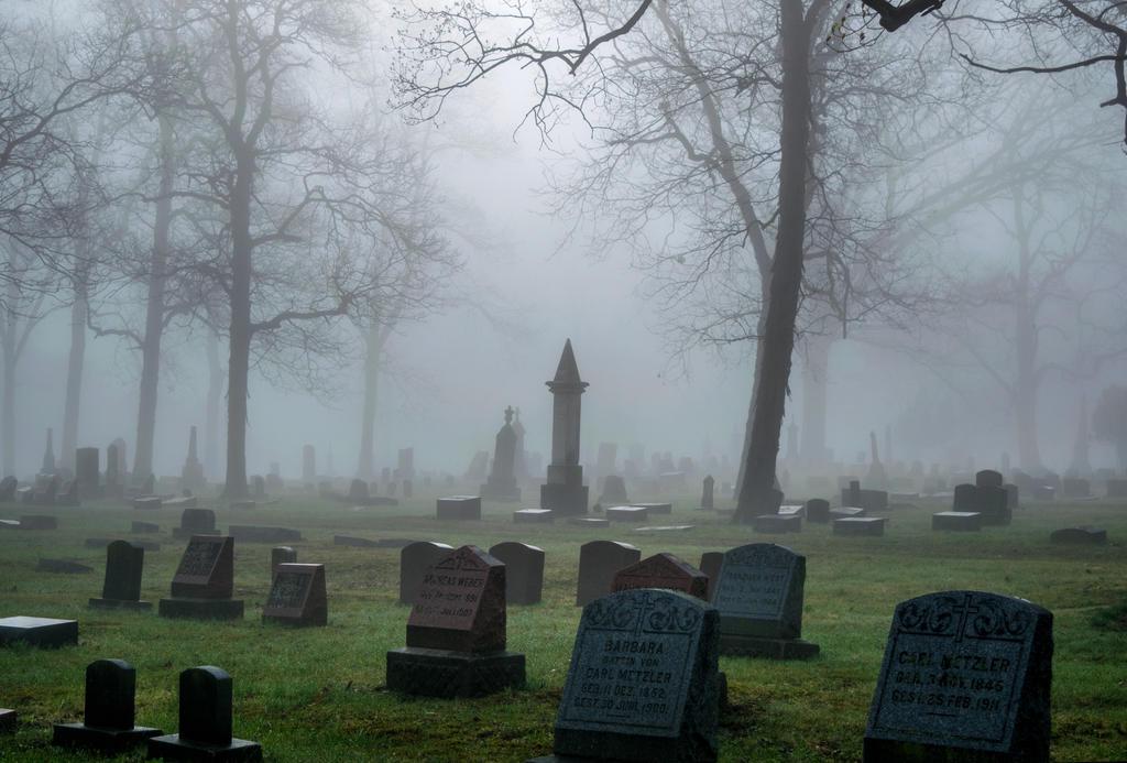 Angel Cemetery Stock