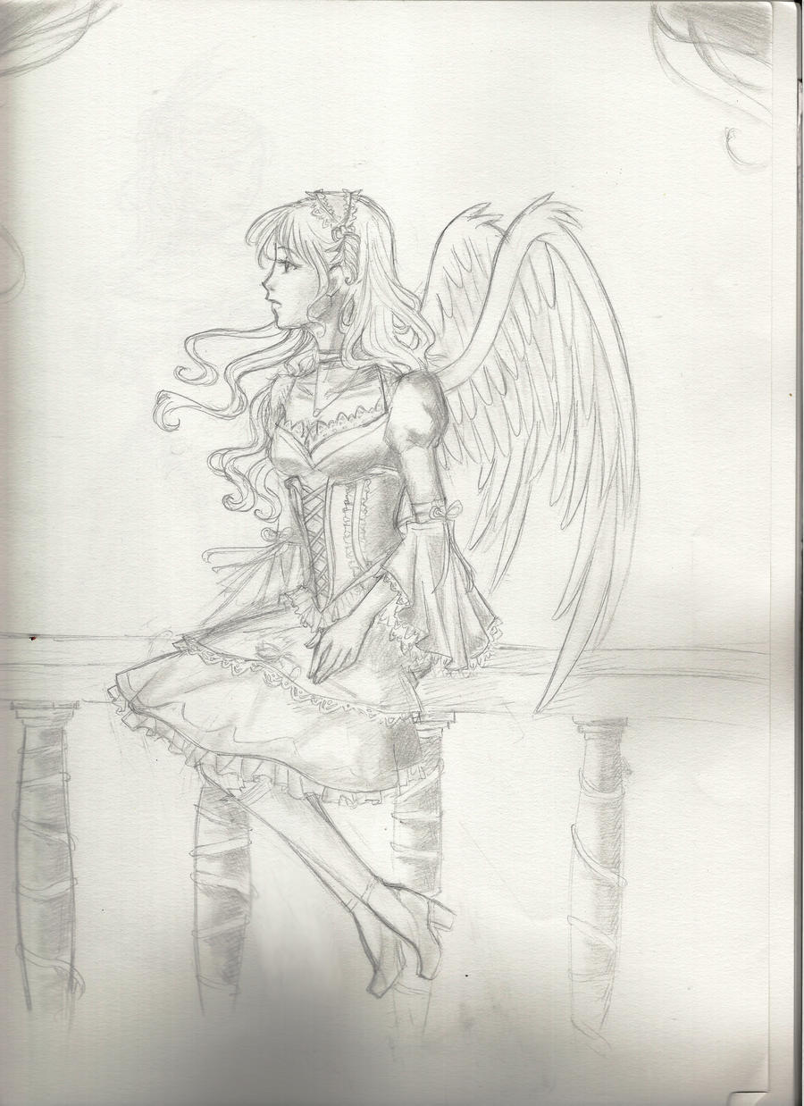 Loli Angel by TerraForever Back when Jennifer Aniston was still dating Brad Pitt she was caught in a ...